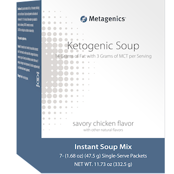 Metagenics Ketogenic Soup Savory Chicken 7 pkts M48731