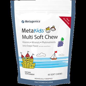 Metagenics MetaKids Multi Soft Chew Grape 60 chews M49448
