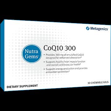 Metagenics NutraGems™ CoQ10 300 30 Chewable Gels M30637