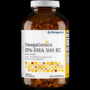 Metagenics OmegaGenics™ EPA DHA 500 Enteric 240gels M34840