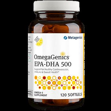 Metagenics OmegaGenics™ EPA DHA 500 Lemon 120gels EPA39