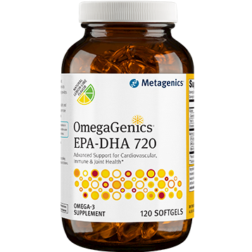 Metagenics OmegaGenics™ EPA DHA 720 Lemon 120 gels EPA34