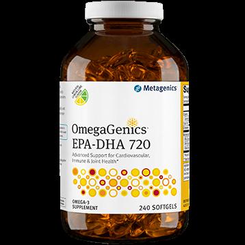 Metagenics OmegaGenics™ EPA DHA 720 Lemon 240 gels M27804