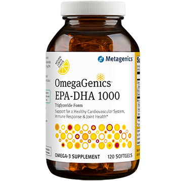 Metagenics OmegaGenics EPA DHA 1000 120 softgels M38732