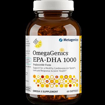 Metagenics OmegaGenics EPA DHA 1000 60 softgels M38725