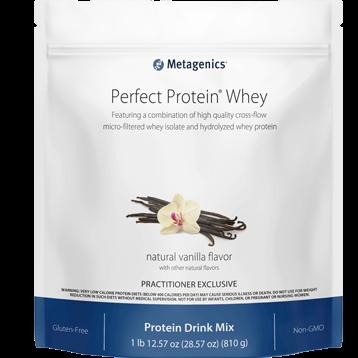 Metagenics Perfect Protein Whey Vanilla 30 servings M48755