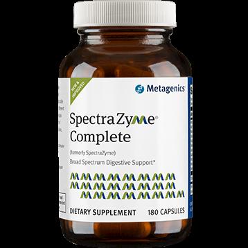 Metagenics SpectraZyme Complete 180 Capsules M39197