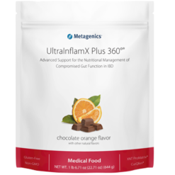 Metagenics UltraInflamX Plus 360 Choc Oran 22.71 oz M41800
