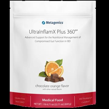 Metagenics UltraInflamX Plus 360 Choc Oran 22.71 oz M41800
