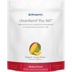 Metagenics UltraInflamX Plus 360 Mango 14 Servings UIX3M