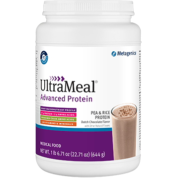 Metagenics UltraMeal Adv Protein Dutch Choc 644g M39579
