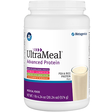 Metagenics UltraMeal Adv Protein Plain 574g M39593