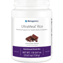 Metagenics UltraMeal RICE Chocolate 26 oz UMCR