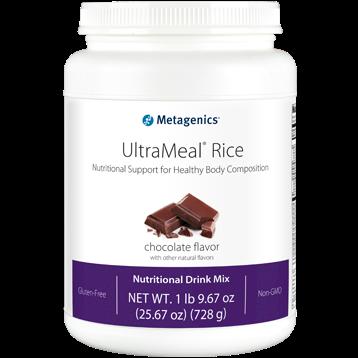 Metagenics UltraMeal RICE Chocolate 26 oz UMCR