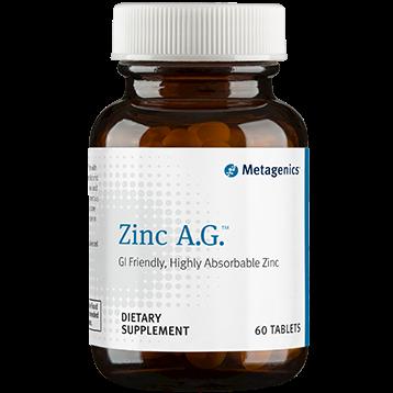 Metagenics Zinc A.G. 20 mg 60 tabs ZN025