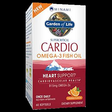Minami CardiO 3® – Orange Flavor 60 gels MN0860