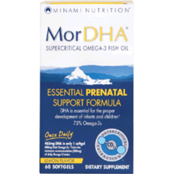 Minami MorDHA® Prenatal – Lemon Flavor 60 gels MN0044