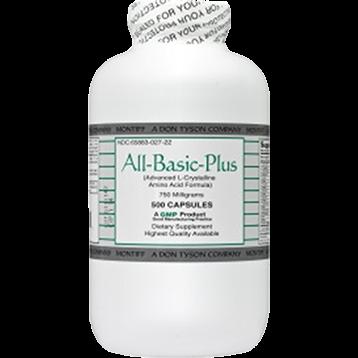 Montiff All Basic Plus 750 mg 500 capsules ABPLU
