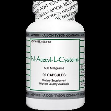 Montiff N Acetyl L Cysteine 500 mg 90 caps NAC12