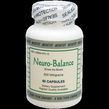 Montiff Neuro Balance 620 mg 60 caps NEU12
