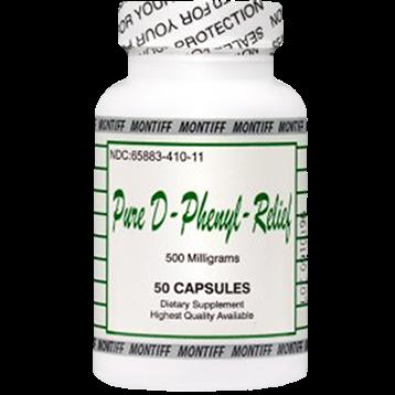 Montiff Pure D Phenyl Relief 500 mg 50 caps PHEN9