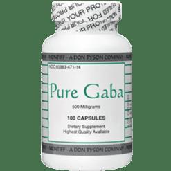 Montiff Pure Gaba 500 mg 100 caps GABA7