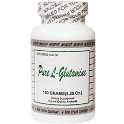 Montiff Pure L Glutamine powder 150 gms GLU99