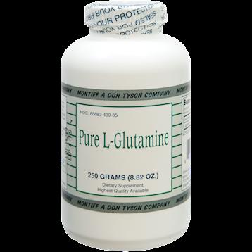 Montiff Pure L Glutamine powder 250 gms GLU98