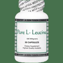 Montiff Pure L Leucine 500 mg 50 capsules LEUC2
