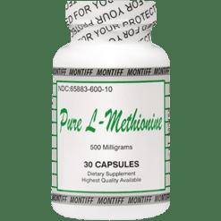 Montiff Pure L Methionine 500 gmg 30 capsules METH9
