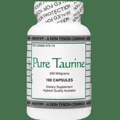 Montiff Pure Taurine 500 mg 100 caps TAU14