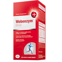 Mucos Pharma Wobenzym Wobenzym Plus 120 tablets D39618