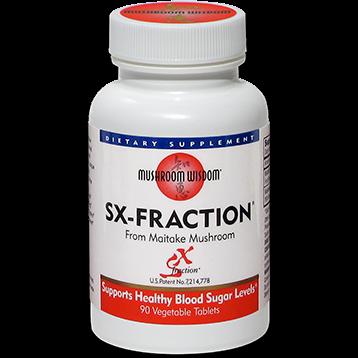 Mushroom Wisdom Inc. SX Fraction 90 vegetarian tablets SXFRA