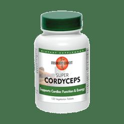 Mushroom Wisdom Inc. Super Cordyceps 120 vegetarian tablets SUP53