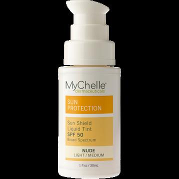 Mychelle Dermaceuticals Sun Shield Liq Tint SPF 50 Nude 1 fl oz MY5368