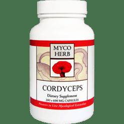 MycoHerb by Kan Cordyceps 200 capsules MCG20