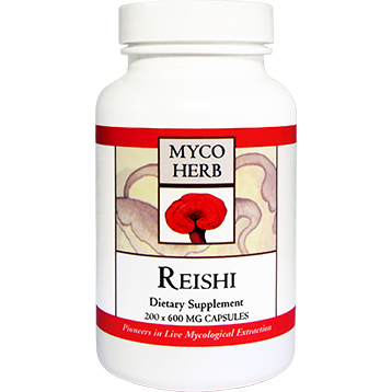 MycoHerb by Kan Reishi 200 capsules MRG20