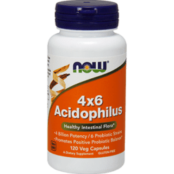 NOW 4x6 Acidophilus 120 caps N2922