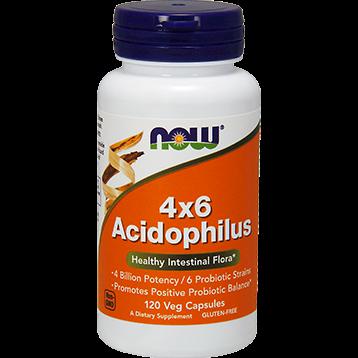 NOW 4x6 Acidophilus 120 caps N2922