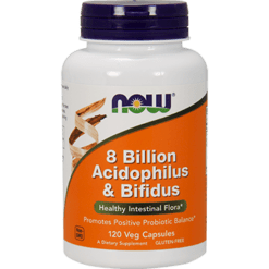 NOW 8 Billion Acidophilus amp Bifidus 120 vcap N2932