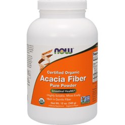 NOW Acacia Fiber Organic Powder 12 oz N5905