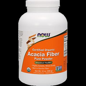 NOW Acacia Fiber Organic Powder 12 oz N5905