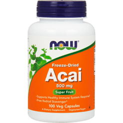 NOW Acai 500 mg 100 vegcaps N3355