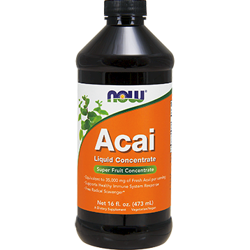 NOW Acai Liquid Concentrate 16 fl oz N4804