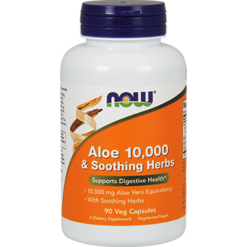 NOW Aloe 10000 amp Soothing Herbs 90 vegcaps N30252