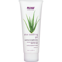 NOW Aloe Soothing Gel 8 fl oz N7508