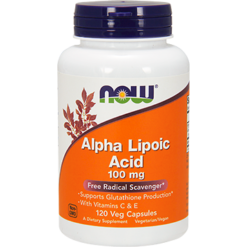 NOW Alpha Lipoic Acid 100 mg 120 vcaps N3041