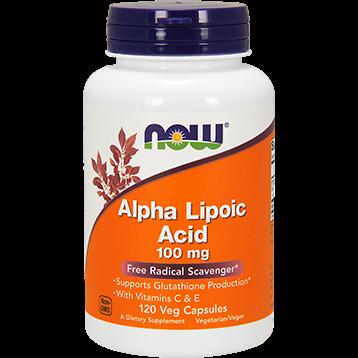 NOW Alpha Lipoic Acid 100 mg 120 vcaps N3041