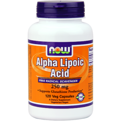 NOW Alpha Lipoic Acid 250 mg 120 vcaps N3043