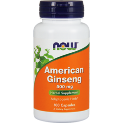 NOW American Ginseng 500 mg 100 caps N4004